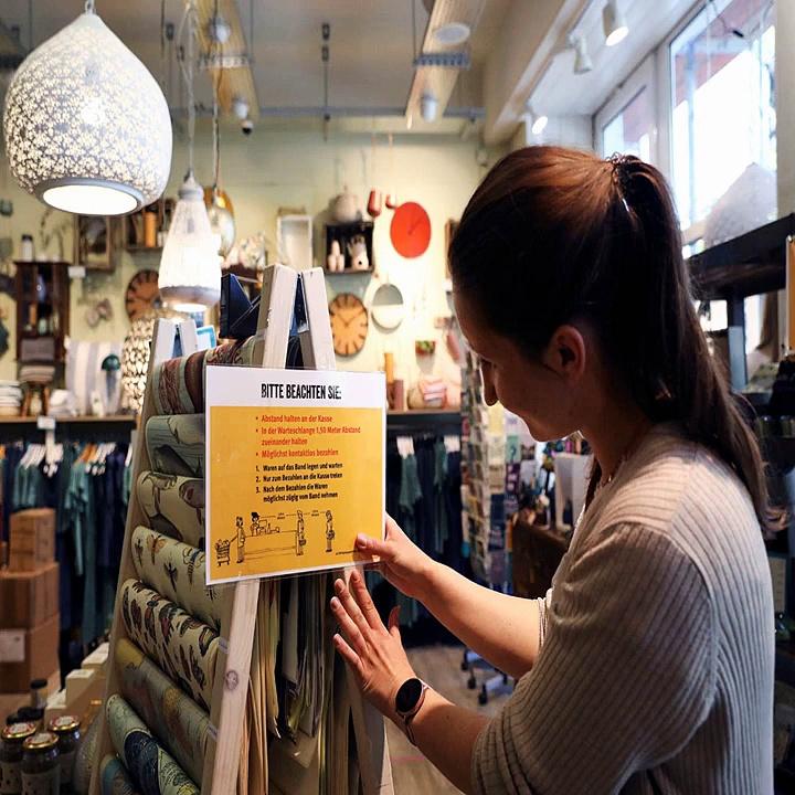 World News Updates_ Germany Begins Reopening Shops as Coronavirus Limits Ease