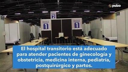 Así avanza el hospital transitorio en Corferias