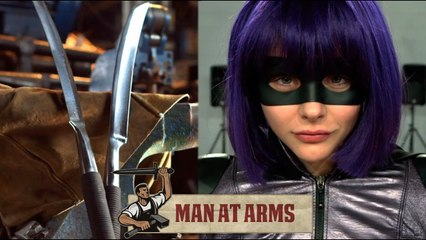 Hit Girl's Detachable Sword (Kick-Ass 2) - MAN AT ARMS