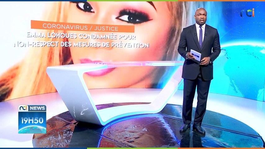 NCI NEWS | EMMA LOHOUES condamnée pour non-respect des mesures de prévention