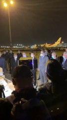 Arrivée d'un nouveau don d'équipements médicaux de Chine à l'aéroport d'Alger