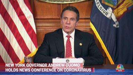 Live- New York Gov. Andrew Cuomo Holds Coronavirus Briefing