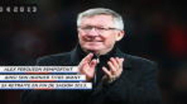 Il y a 7 ans - Le dernier titre de champion pour le Manchester United d'Alex ferguson