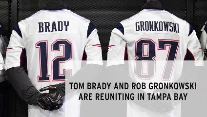 Tom Brady and Rob Gronkowski Confirm Reunion