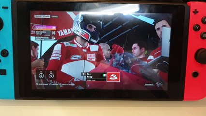 MotoGP 20 : gameplay Switch (Handheld) Red Bull Ring