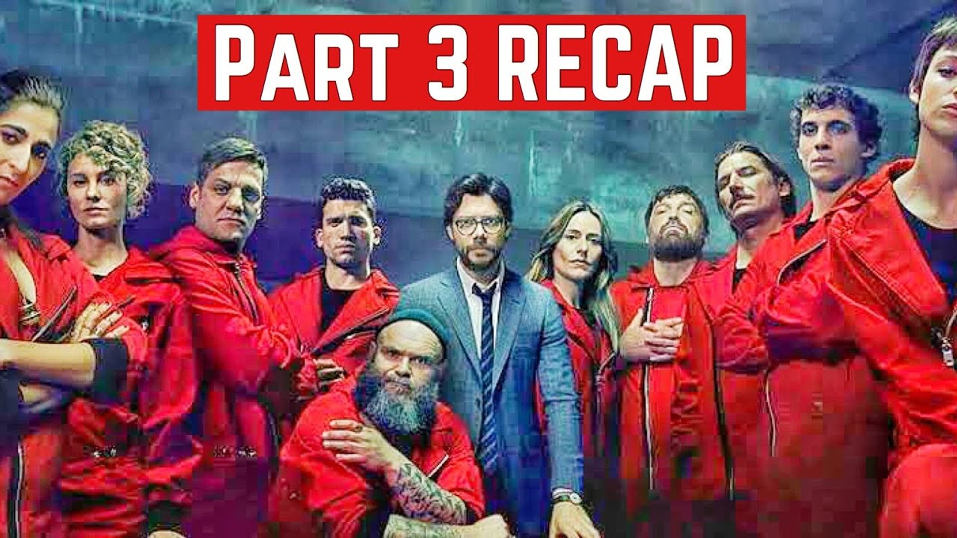 Money Heist : Part 3 REACP English - La Casa De Papel - Netflix 2020