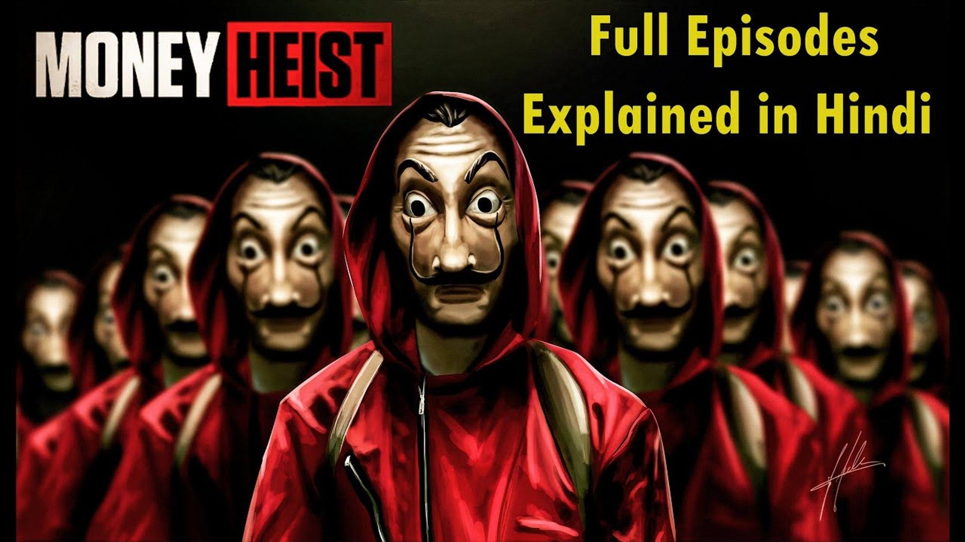 Money Heist Season 1 Explained in Hindi - Lacasa De Pappel Season 1 Explained  Hindi Detailed - Netflix 2020 - video dailymotion
