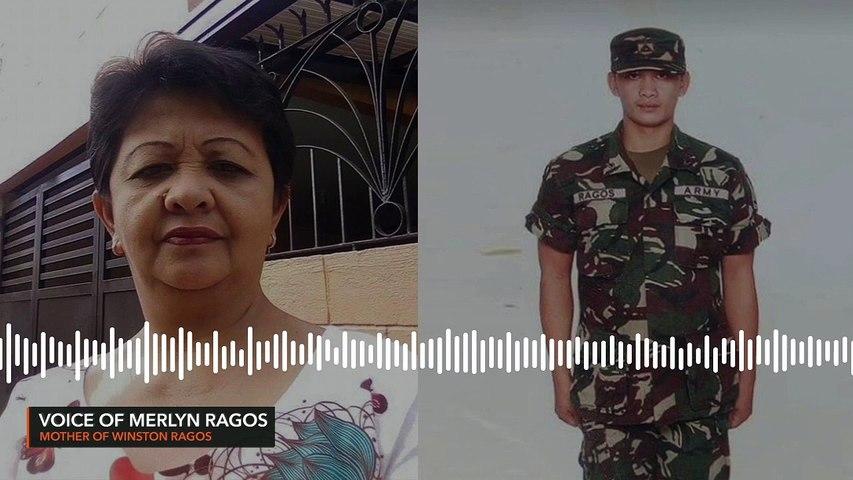 Winston Ragos' mom to Duterte gov't: Coronavirus is the enemy, not my son