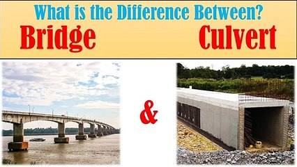 What is the diff between bridge and culvert? | Civil Engg. Q and A