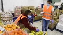 Una parroquia de Vallecas reparte 70.000 kilos de alimentos a 600 familias vulne