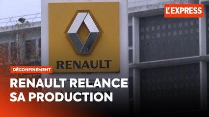 Renault relance progressivement sa production en France