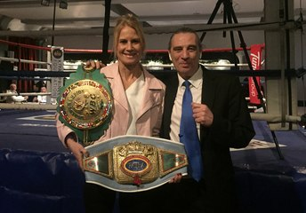 British & Irish Boxing Authority (BIBA) Vice President Gianluca Di Caro is taking part in the DiabetesUK #StepAtHome campaign and calls for others to take up the challenge