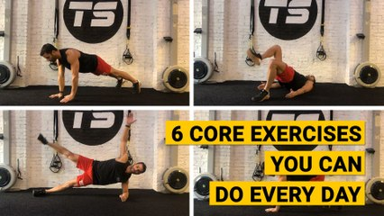 6 Core Exercises You Can Do Every Day