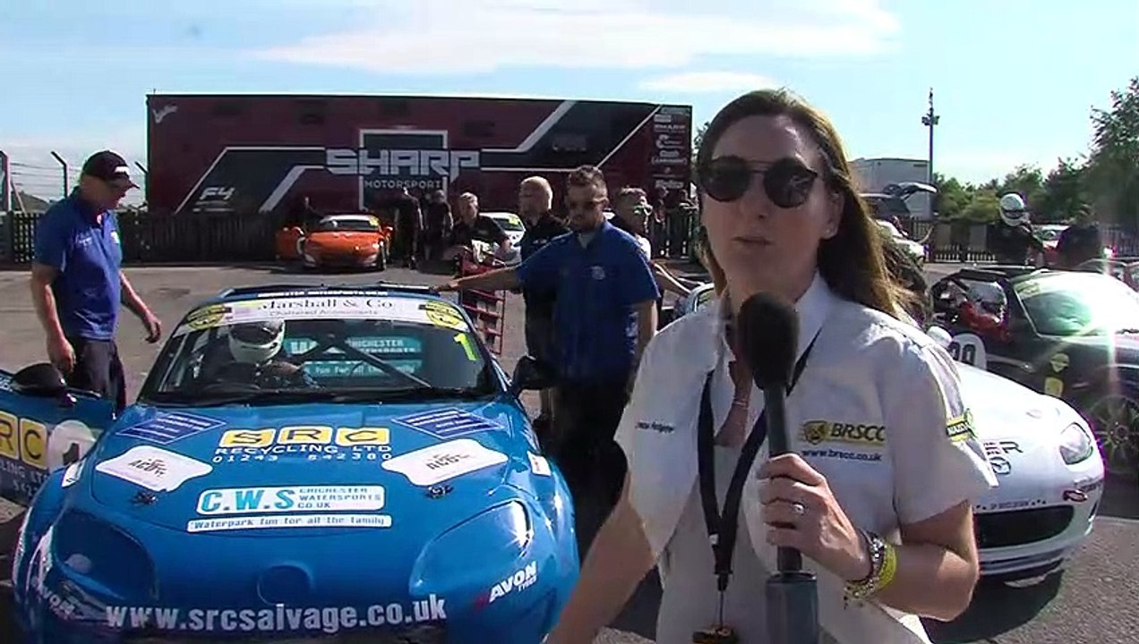 BRSCC Mazda mx5 Super Cup 2019 RD 5 Brands Hatch HD