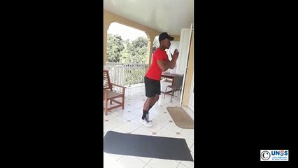 Challenge Garde la forme AS Martinique : _Lunge_Jump_