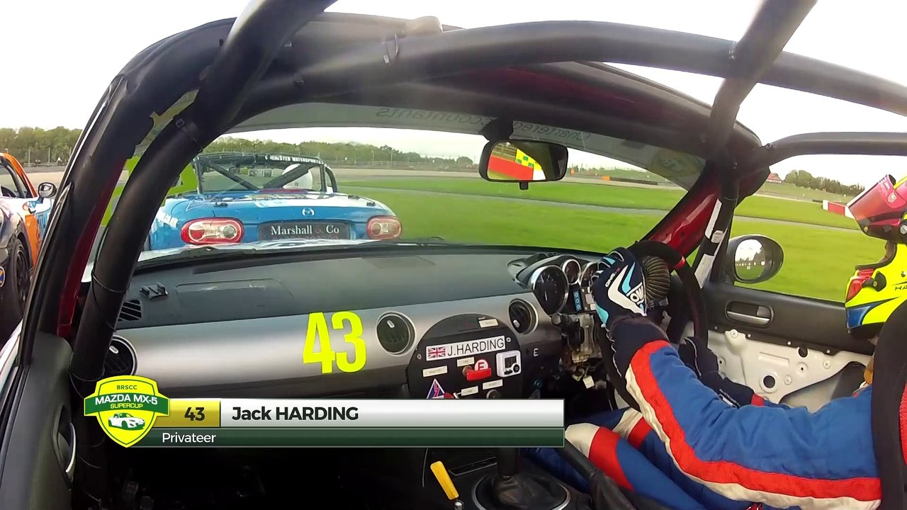 BRSCC Mazda mx5 Super Cup 2019 RD 8 Donington HD