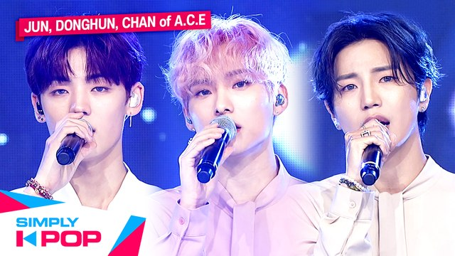 [Simply K-Pop] JUN, DONGHUN, CHAN of A.C.E(에이스) - First love (Prod.HongChangWoo) _ Ep.411