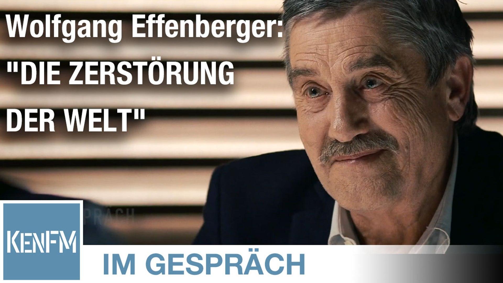 """Im Gespräch: Wolfgang Effenberger (""""Geo-Imperialismus: Die Zerstörung der Welt"""")"""