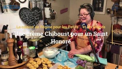 La recette du Saint Honoré à la crème Chiboust de Régine