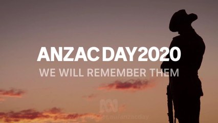 We Will Remember Them, Lest We Forget, Anzac Day 25 Apr Part 1-2 , Australia, 25 Apr 20