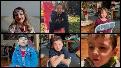"""""""Mes copains me manquent beaucoup"""" : le confinement vu par des enfants italiens"""