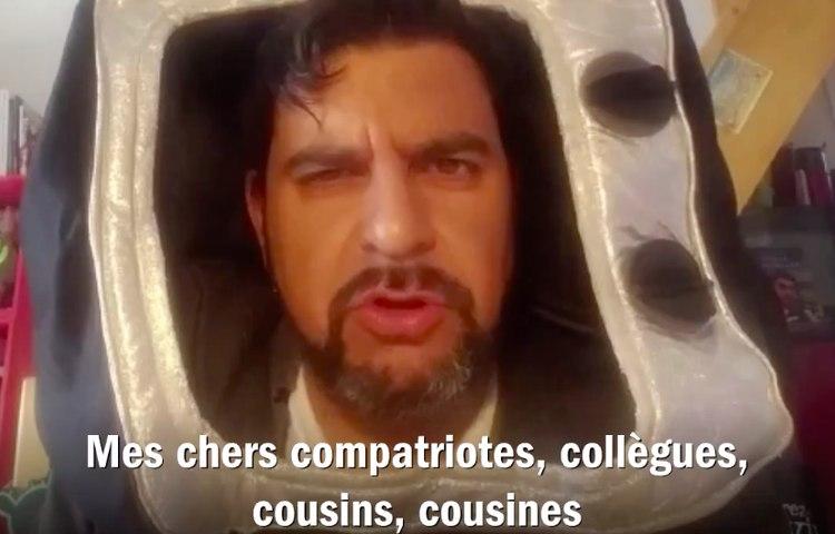 Médéric Gasquet-Cyrus : Allocution solennelle d'Emmanuel Marquons-Mal