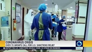 More than 70 groups call for US sanctions relief amid pandemic