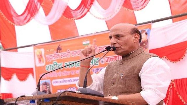 राजनाथ सिंह ने दिया बड़ा बयान, कहा- भारत ने लिया जवान की बर्बरता का बदला