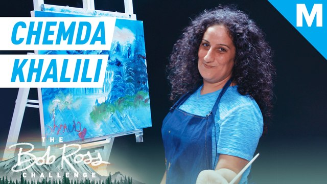 Chemda Khalili paints the sunshine we all desperately need right now — The Bob Ross Challenge
