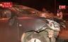 Mumbai:डिवाइडर से कार की टक्कार, बाल-बाल बची कार सवारों की जान