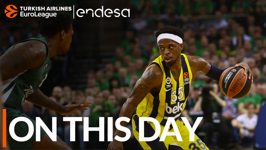 On This Day, April 25, 2019: Fenerbahce fires its way to playoff shooting record