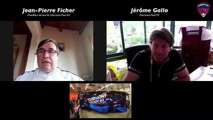 Portrait vidéo de « JP » Ficher, chauffeur du Clermont Foot 63