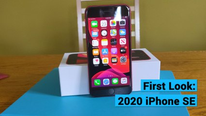 First Look: 2020 iPhone SE
