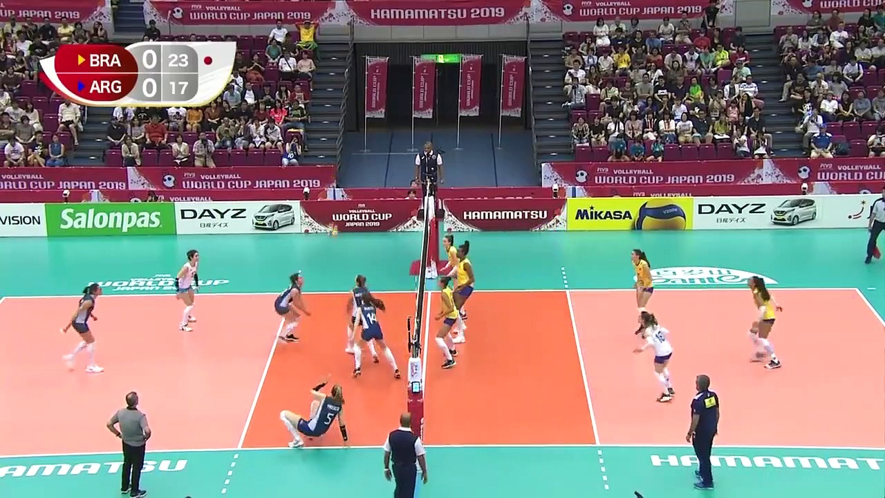 BRAZIL vs. ARGENTINA – Women's Volleyball World Cup 2019