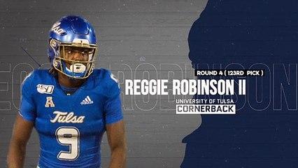 Cowboys Grab in Round 4, Cornerback Tulsa's Reggie Robinson II and Center Tyler Biadasz