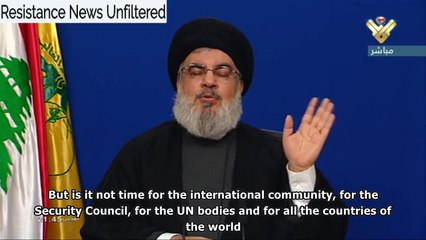 Nasrallah: Gaza, Yemen and Iran are mercilessly abandoned to the coronavirus, Trump is the worst criminal in history