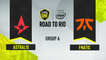 CSGO - Astralis vs. Fnatic [Overpass] Map 3 - ESL One Road to Rio - Group A - EU
