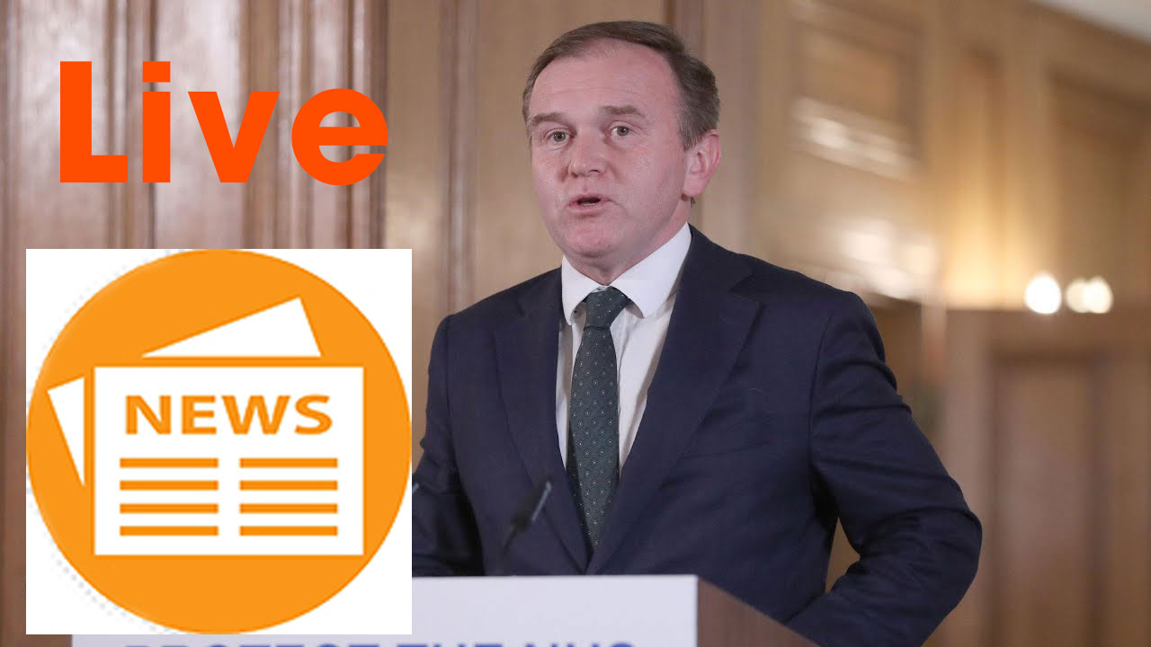 Coronavirus UK: George Eustice holds daily news conference – watch live