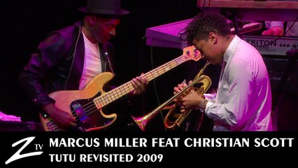 Marcus Miller - Tutu Revisited feat Christian Scott -  Hannibal - 2009 LIVE HD