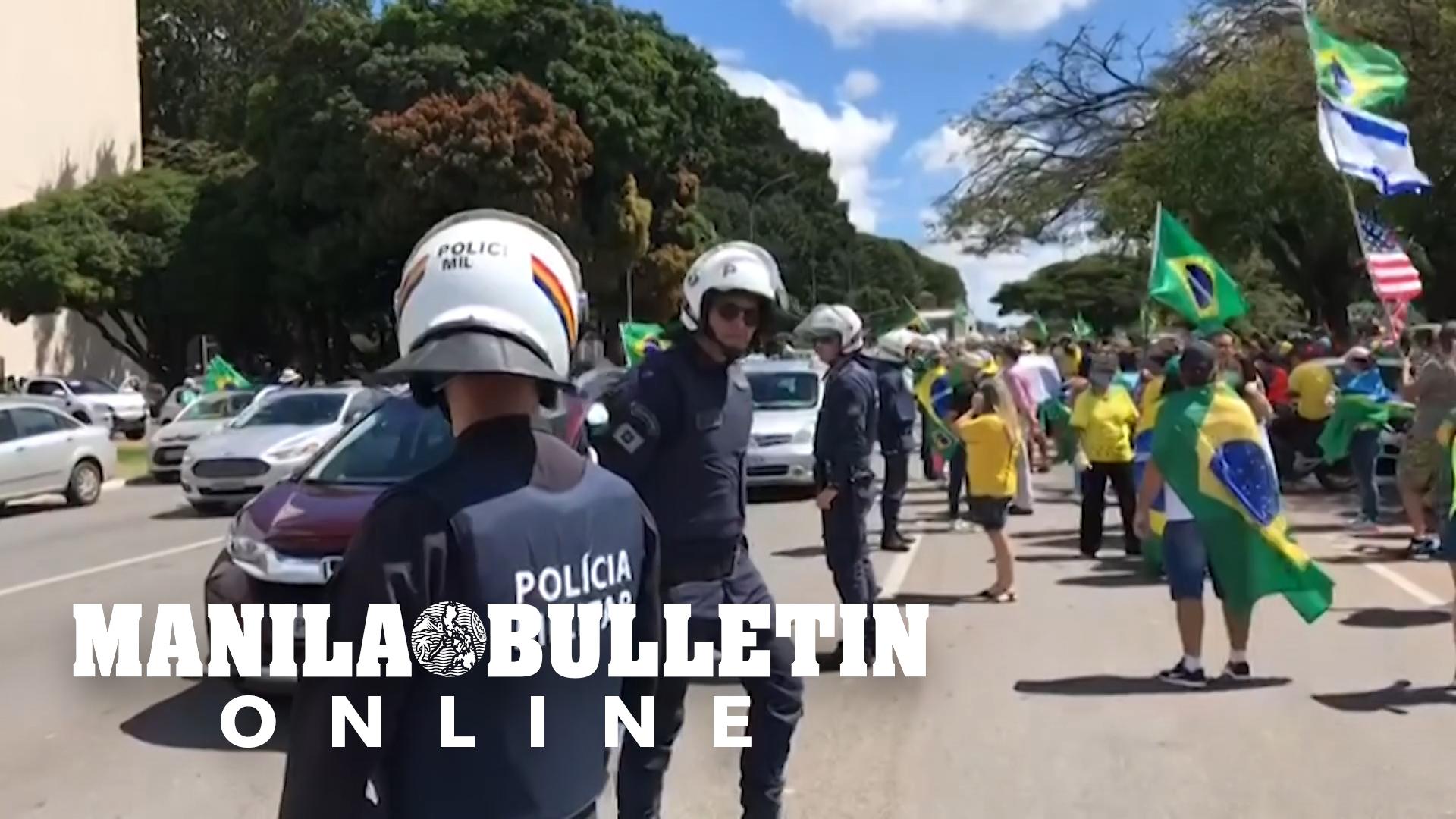 Brazil: Protesters demand end to coronavirus prevention measures