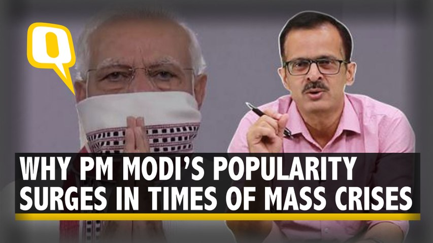 Why PM Modi's Popularity & Credibility Are Intact Despite Crisis & Chaos In The Country