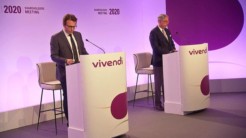 Monsieur Yannick Bolloré - Ouverture de la séance - Assemblée générale mixte de Vivendi 2020