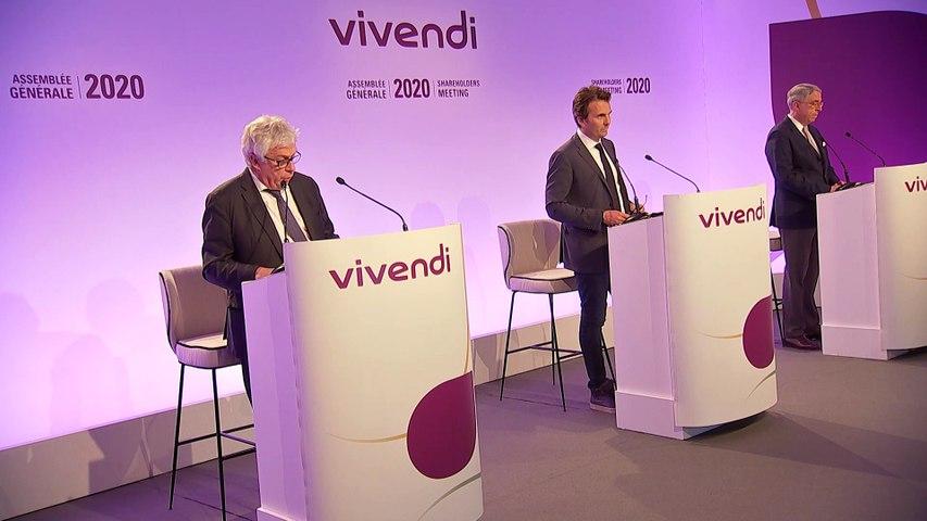 Monsieur Hervé Philippe - Résultats annuels - Assemblée générale mixte de Vivendi 2020