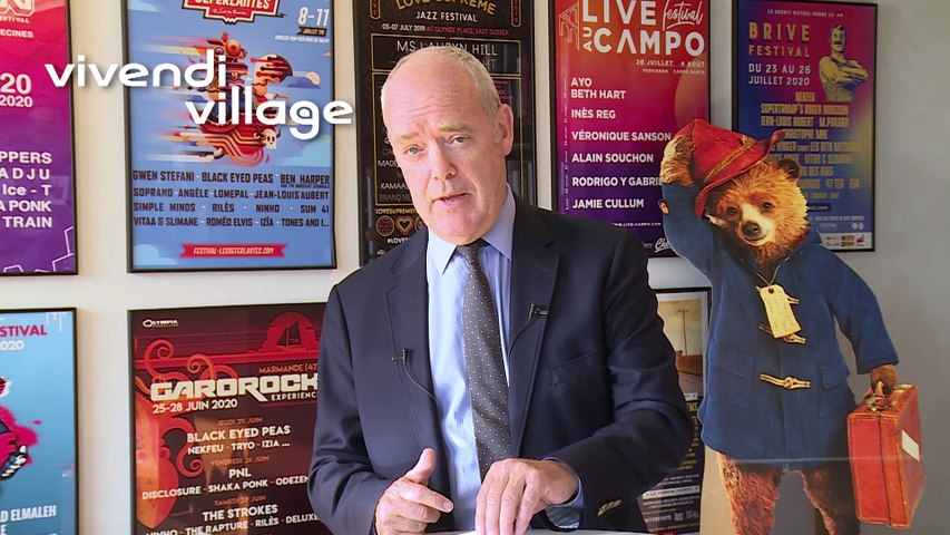 Monsieur Simon Gillham - Vivendi village - Assemblée générale mixte de Vivendi 2020