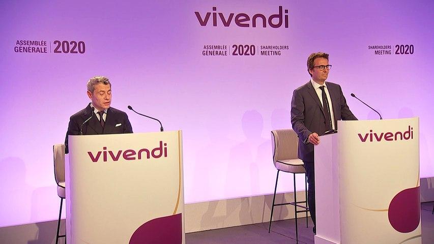 Monsieur Frédéric Crépin - Questions-réponses - Assemblée générale mixte de Vivendi 2020