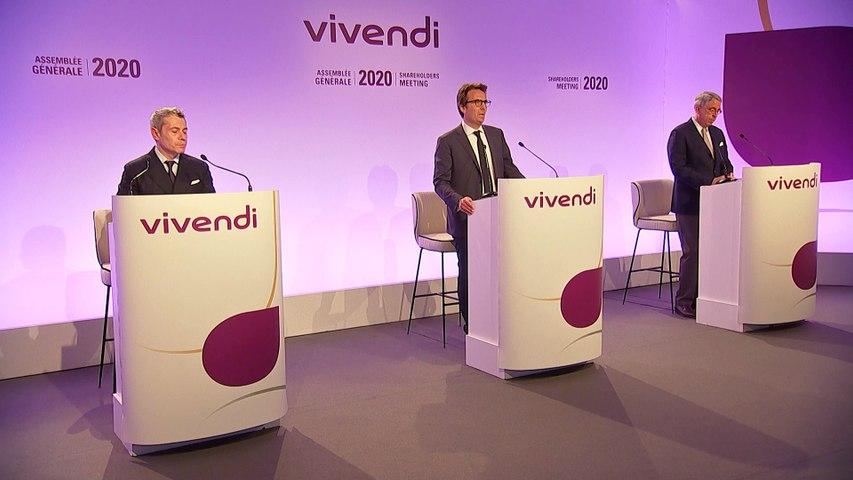 Monsieur Yannick Bolloré - Clôture de la séance - Assemblée générale mixte de Vivendi 2020