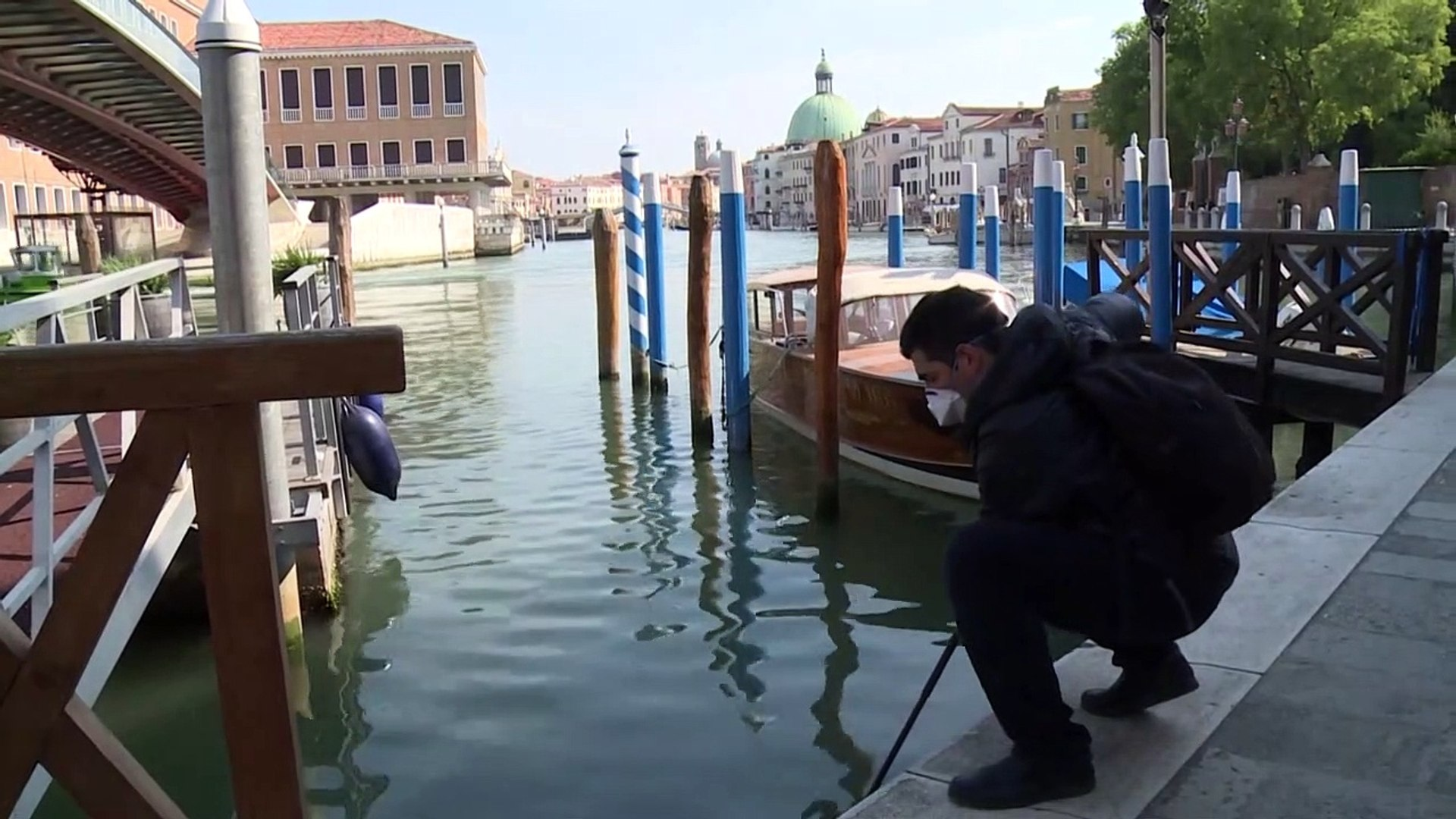فيروس كورونا يكشف النظام البيئي المتنوع في بحيرة البندقية