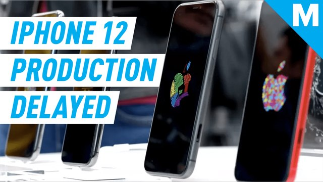iPhone 12 mass production will be delayed