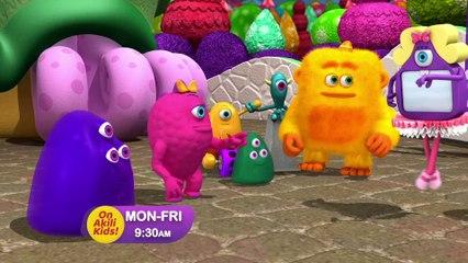 Monster Math Squad on Akili Kids! TV