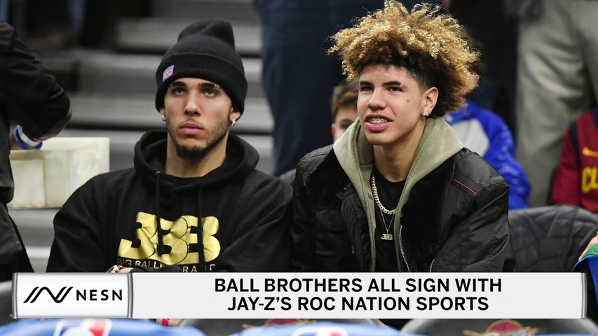Report: All Three Ball Brothers Sign With Jay-Z's Roc Nation Sports